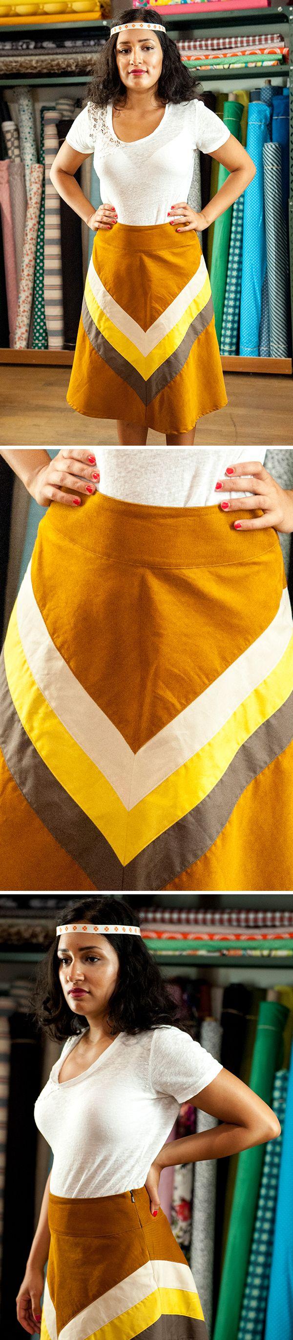 Veckans plagg blev denna kjol som är skapad av Lisa! Ge gärna beröm till Lisa i form av en kommentar! #HelaSverigesyr #sy #kjol