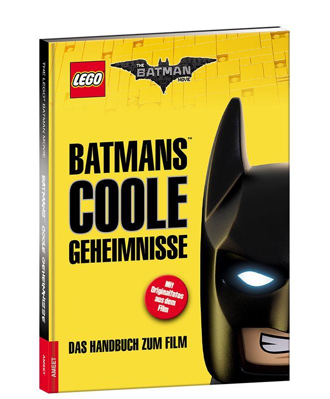 <strong>Batmans coole Geheimnisse – Das Handbuch zum Film THE LEGO® BATMAN MOVIE</strong>  Ein Mal so cool wie Batman<strong>™ </strong>sein! Dieser Wunsch geht mit dem neuen Batman Handbuch in Erfüllung. Der größte Superheld aller Zeiten weiht kleine Leser in seine Geheimnisse ein. Wer sonst könnte wissen, wie man die eigene Superheldenkraft herausfindet?Auf vielen farbigen Seiten mit Originalbildern aus dem Film kommt Batman höchstpersönlich zu Wort. <...
