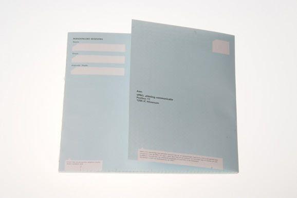 O.K. PARKING / Interactief & Grafisch Ontwerpers / VPRO Jaarverslag 2003 (bekroond!)
