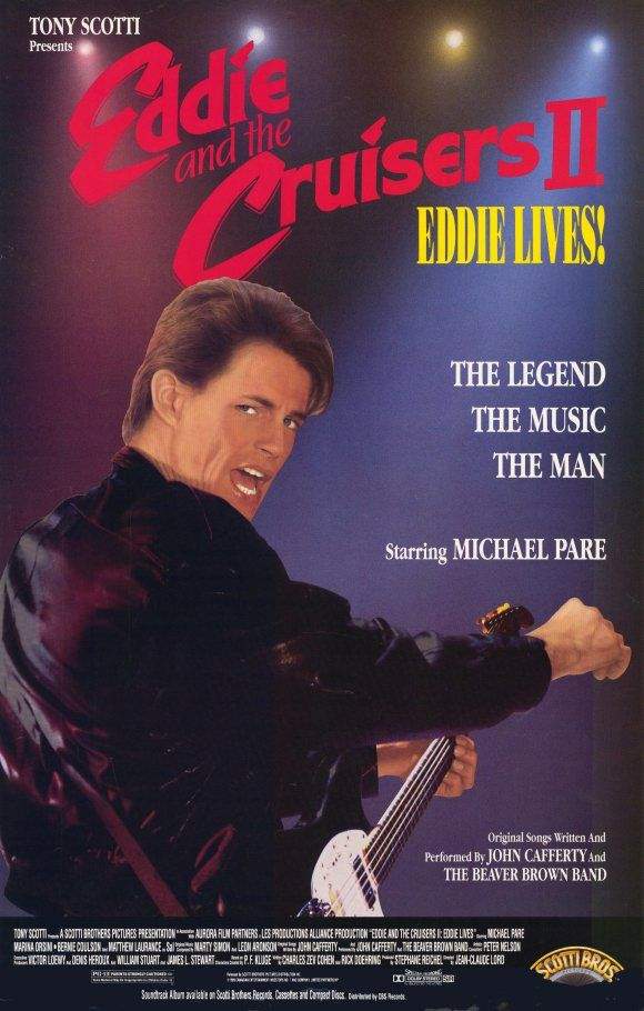 Eddie and the Cruisers II     Love the suspense  ... great music!