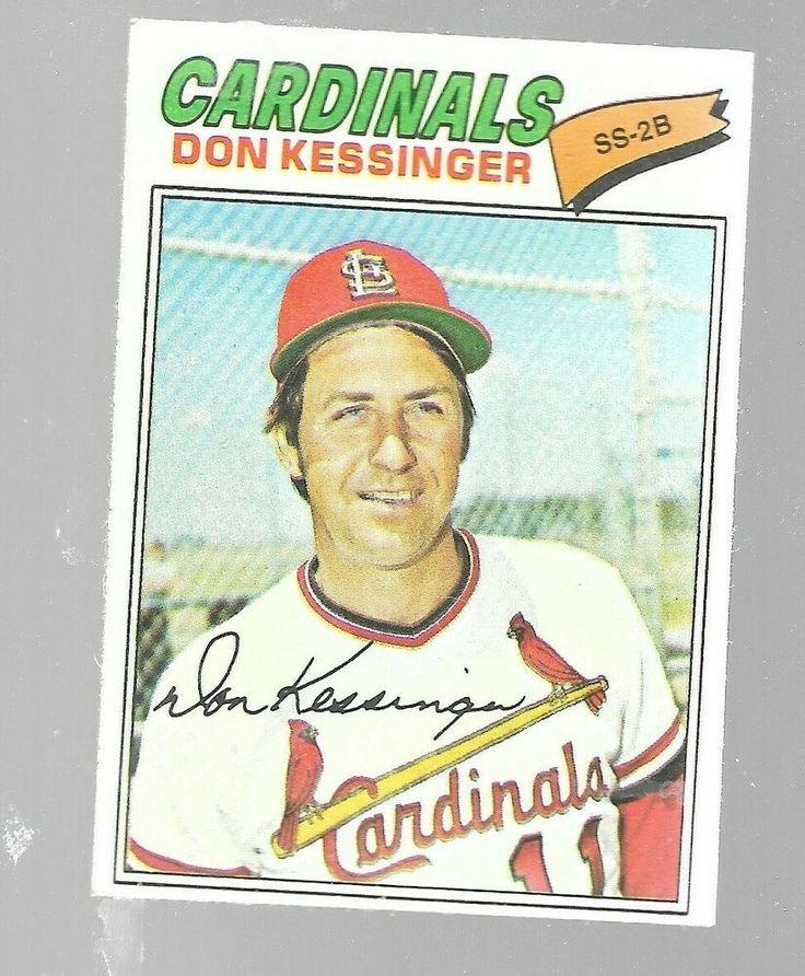 1977 topps don kessinger 229 st louis cardinals baseball