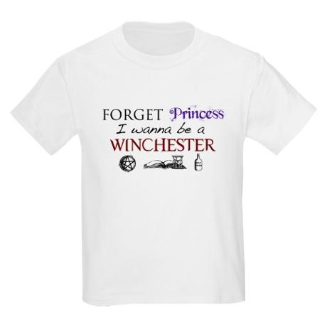 Forget Princess  I want to be a Winchester