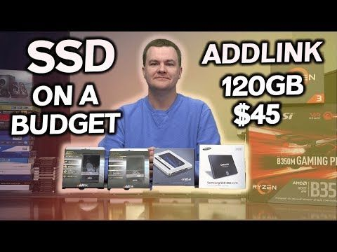 Addlink SSD Review - 120GB for $45 - 240GB for $72 - YouTube