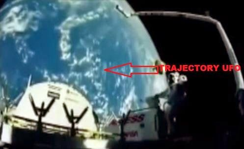 2015 - UFO watching for Astronauts, Captured on Video