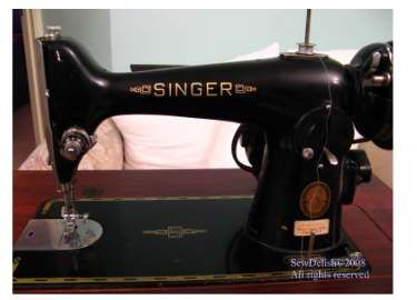 SewDelish: How To Clean Old Antique and Vintage Sewing Machines