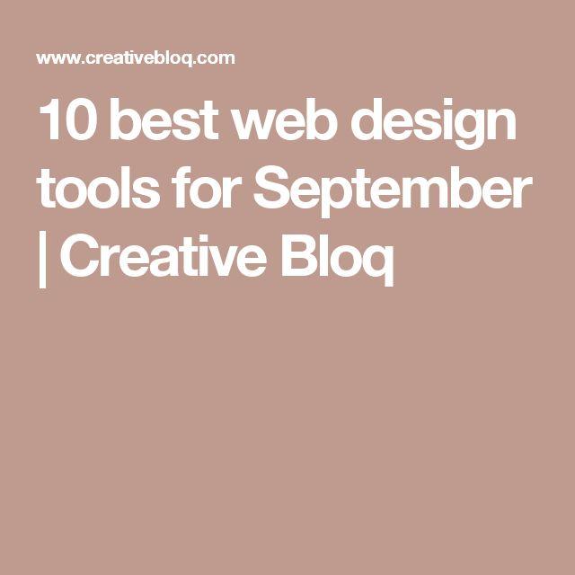 10 best web design tools for September | Creative Bloq
