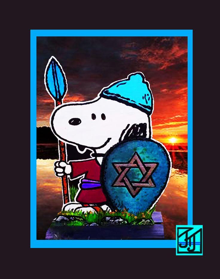 ... bilder om Snoopy Chanukah på PinterestMenorah, Vintage och Peanuts