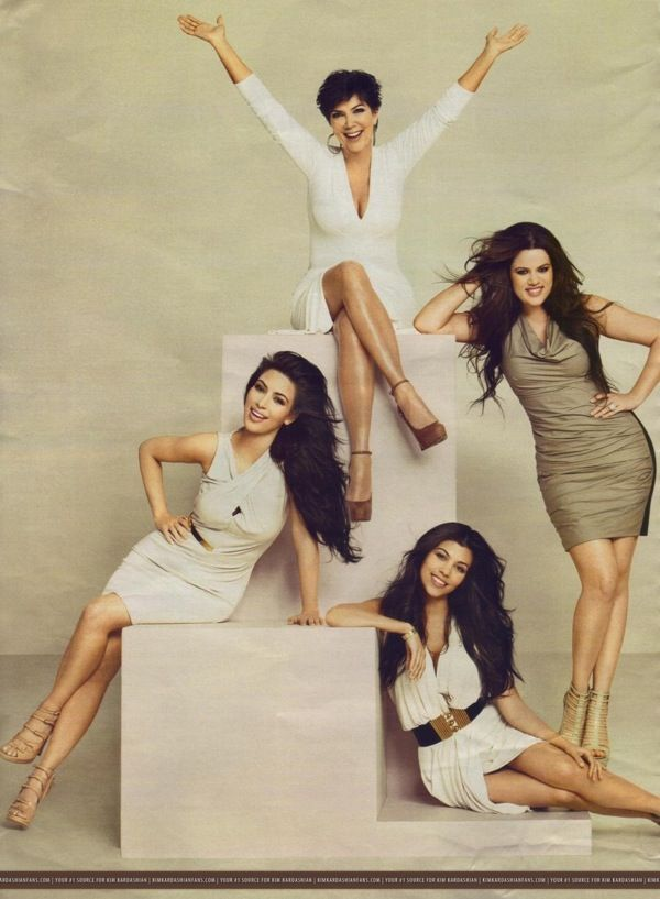 Love Kris Kardashian-Jenner.  Strong roll model for her girls.