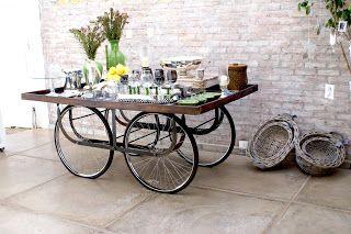 Coisinhas*Outras: Roda de bicicleta: 5 idéias para reutilizar