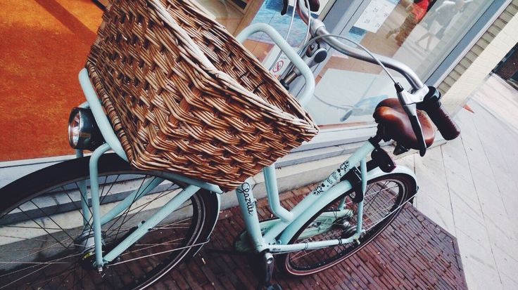 It was love at first sight! Miss Grace by Gazelle bikes ❤️