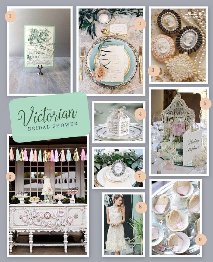 Victorian Inspired Bridal Shower