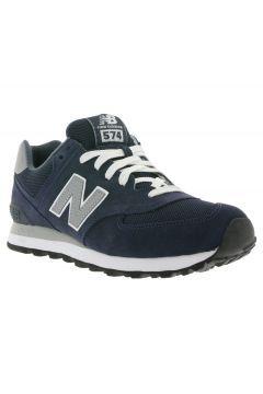 New Balance Schuhe Herren Sneaker Turnschuhe Blau M574NN #modasto #giyim #erkek https://modasto.com/new-ve-balance/erkek/br1248ct59