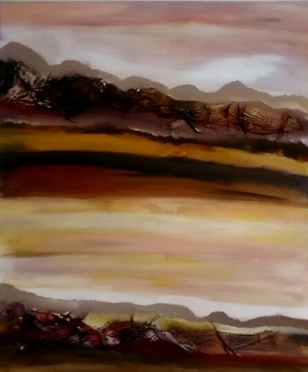 Into the Landscape Art by Katherine Earp