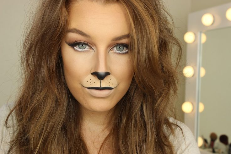 Lion Halloween Makeup