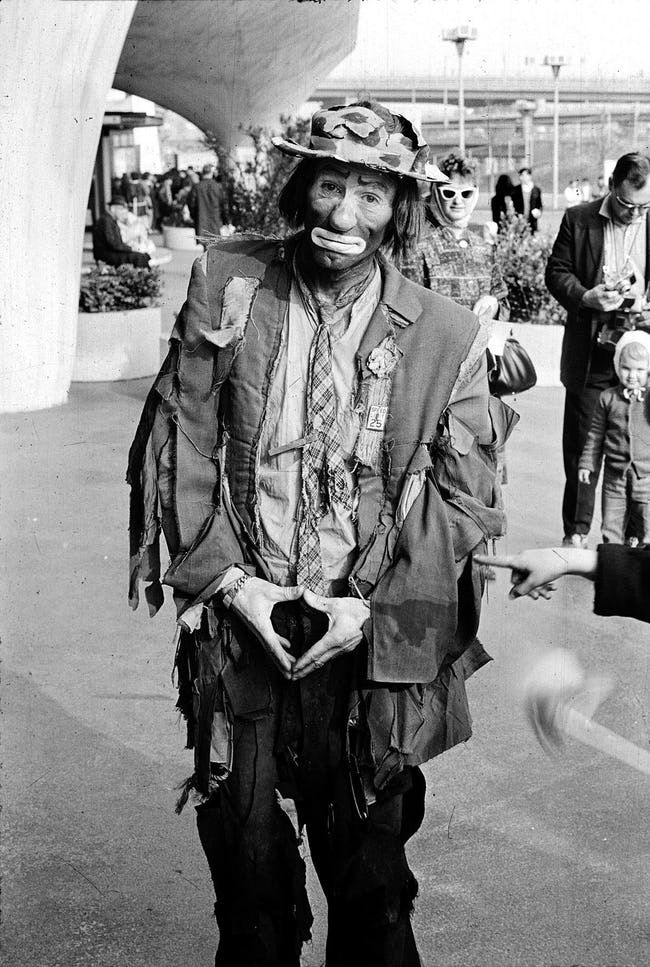 Emmett Kelly - ranked 3 on the list List of Famous Clowns