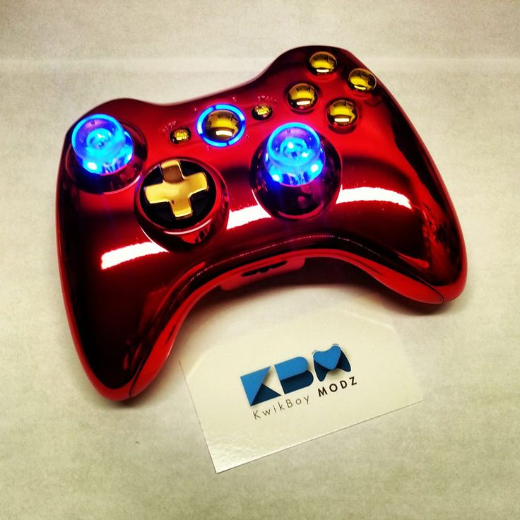 iron man xbox 360 controller kwikboy modz customcontroller moddedcontroller ironman. Black Bedroom Furniture Sets. Home Design Ideas