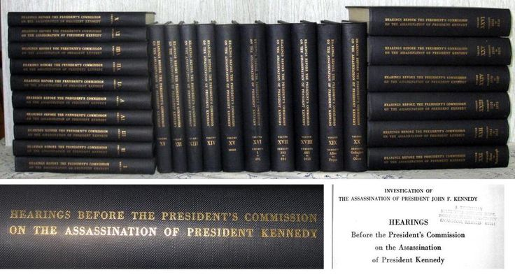 the warren commission on the assassination of president john f kennedy Chapter 1: summary and conclusions top skip to warren commission introduction inventory report records of key persons web version based on report of the president's commission on the assassination of president john f kennedy, washington, dc: united states government printing.