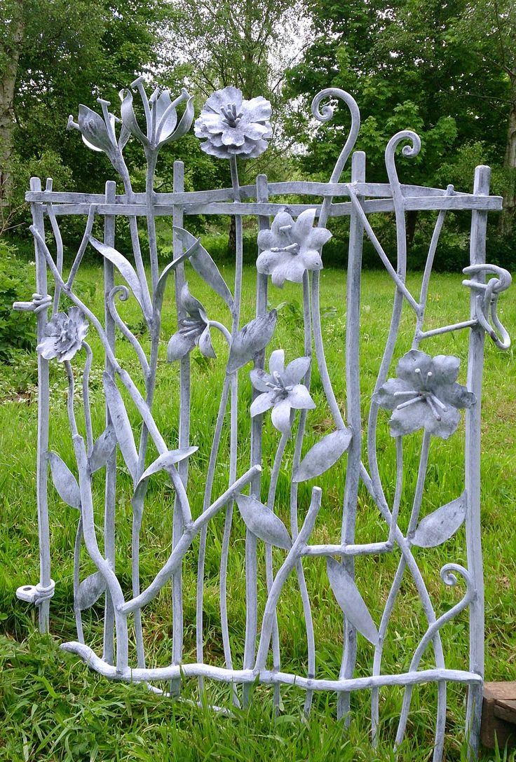 Sculpture and garden art , artistic metal furniture and gates - Garden and Drive Gates from David Freedman Sculpture