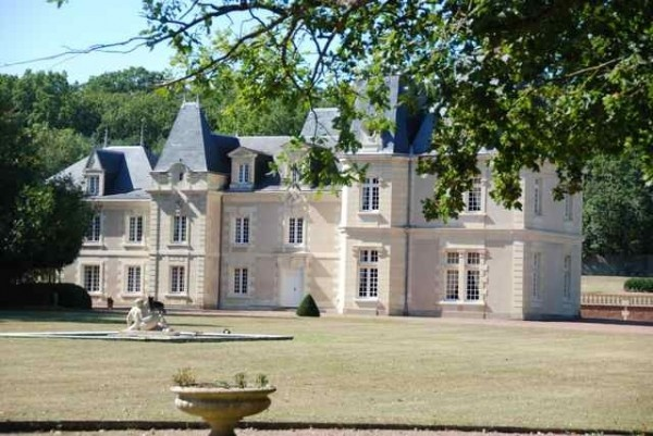 Chateau de Jalnay à Glénouze France - Bed & Breakfast Europe