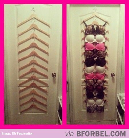 How To Organize Your Bras…