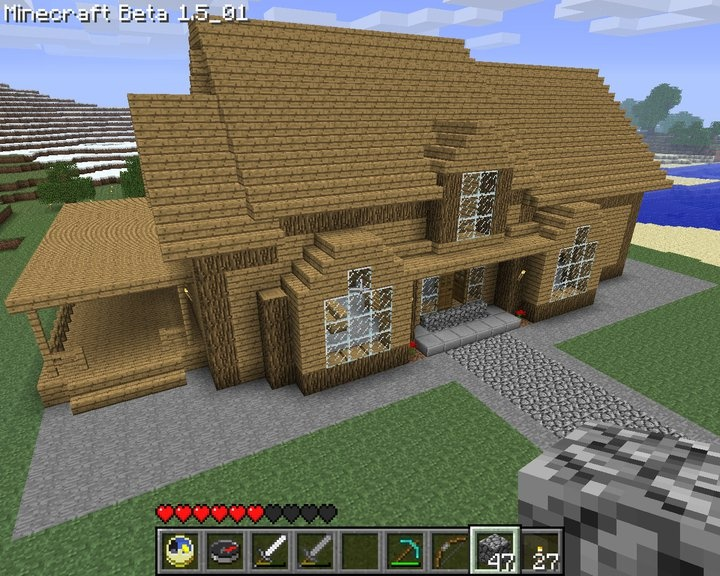 With Simple House Design As Well Cool Minecraft House Blueprints
