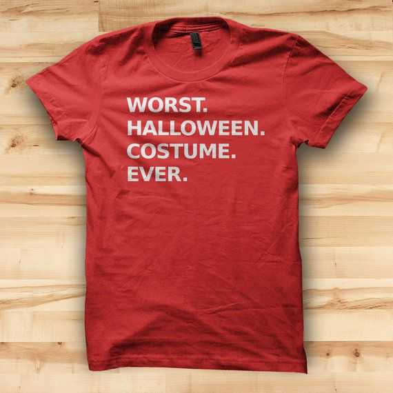 Worst Halloween Costume Ever // Mens T shirt by TeeTotalClothing