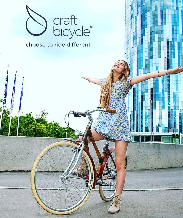 Smile more 😄! Ride a bike! 🚴  Choose to ride different!  Check out more on www.craftbicycle.com!