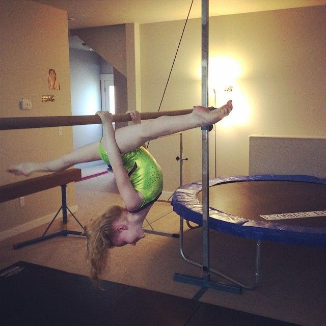 She have only 6 but she have only a dream ♥ Lucy Fisher little gymnast