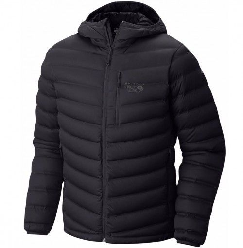 Mountain Hardwear Men's Stretchdown Hooded Jacket Black - Nyheter på Fjellsport - Kampanjer