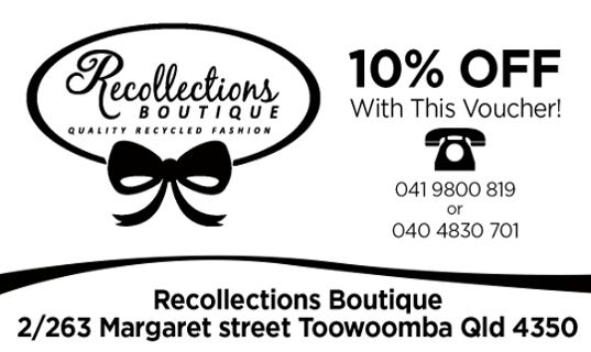 recollections-Toowoomba
