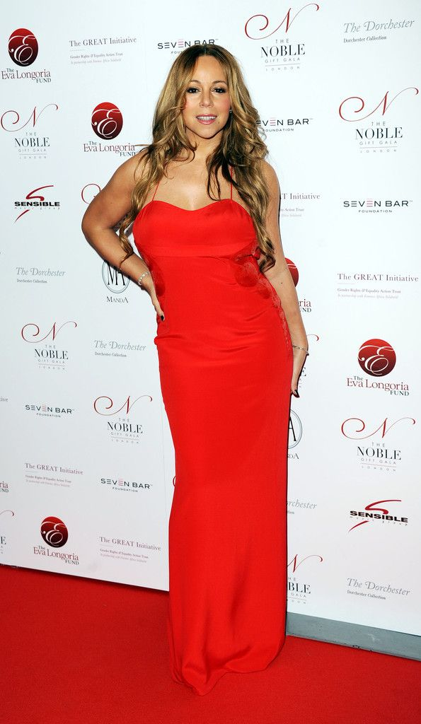 Mariah Carey attends the Noble Gift Gala at The Dorchester on December 10, 2011 in London, England.