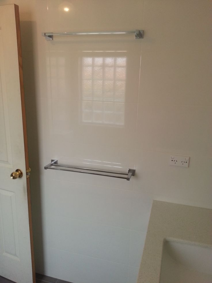 Double Square Rail - Bathroom - Renovation - Perth - On the Ball Bathrooms