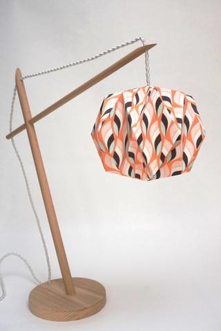 Lampe Origami  vintage par CCfaitdessiennes