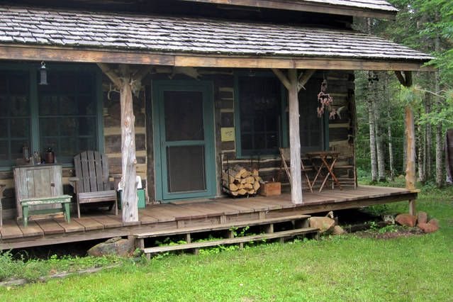 Authentic 1868 hand-hewn log cabin   Finland, MN, United States     