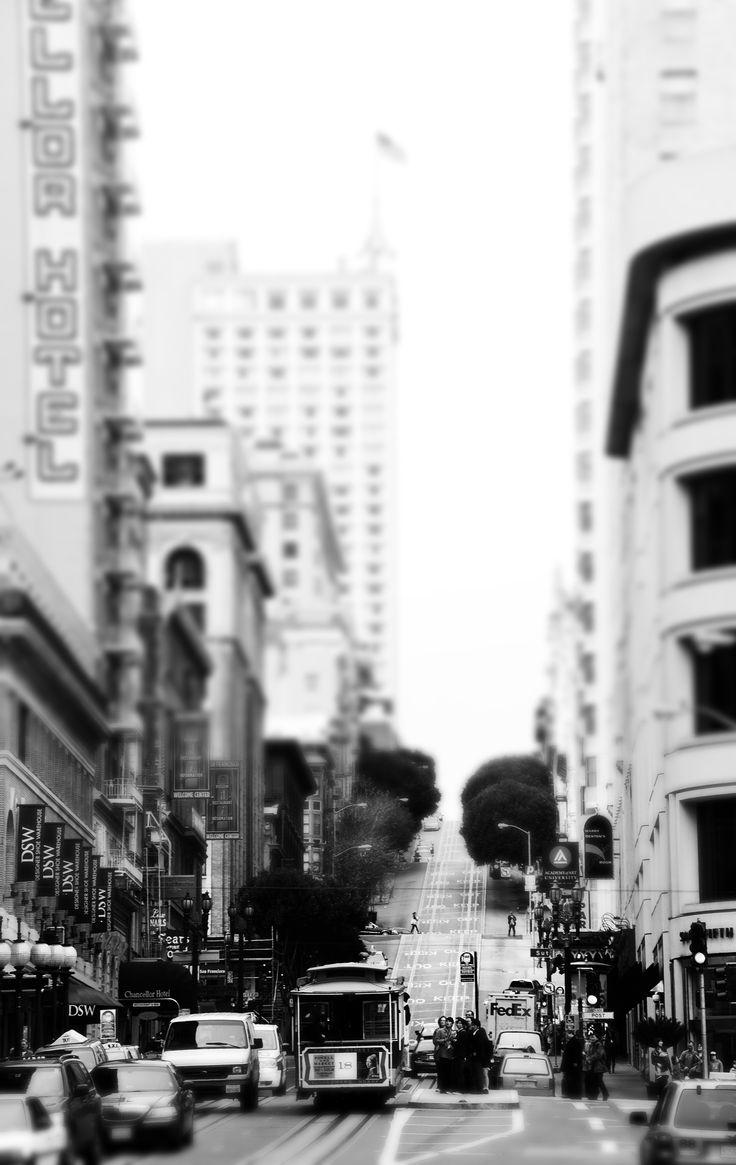 #sanfrancisco #blackandwhite #photographie