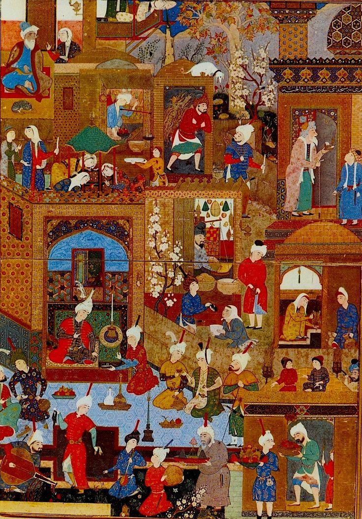 Persian miniatures.