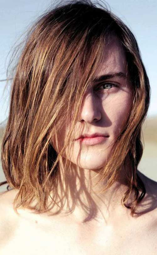 7.Guy Long Hairstyle