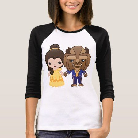Beauty and the Beast Emoji T-Shirt - click/tap to personalize and buy