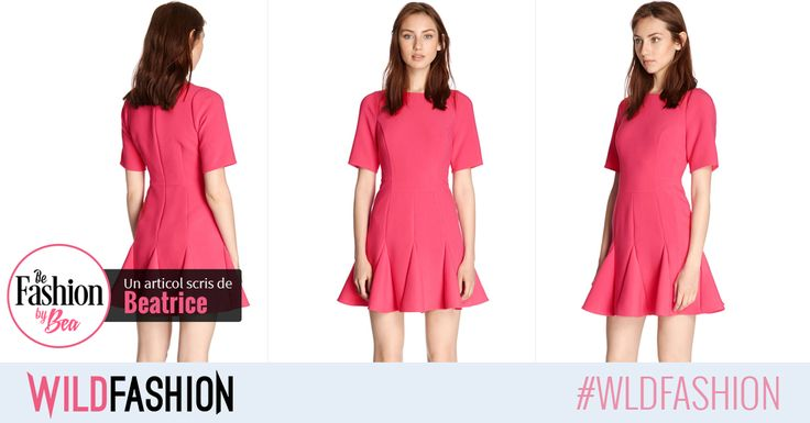 Poarta roz si intampina primavara intr-o rochie vesela!
