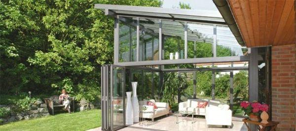 Balkon oder Terrasse Wintergarten aus Glas - Schönheit und Ruhe