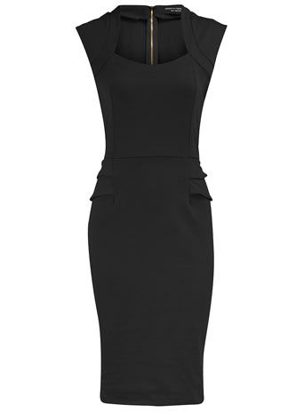 A properly fitted sheath dress should be tight enough to show you're a woman, but classy enough to show you're a lady.