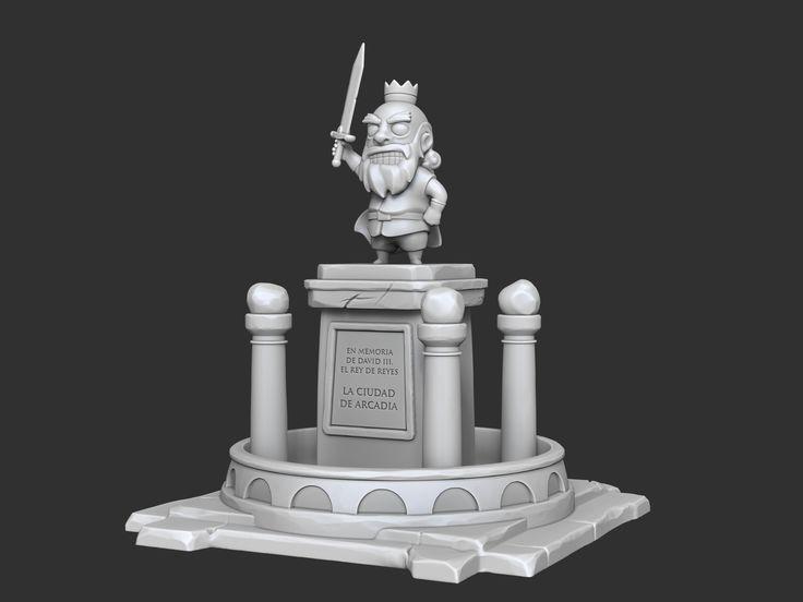 ArtStation - Arcadia Quest Fountain, CARLOS MONTERO