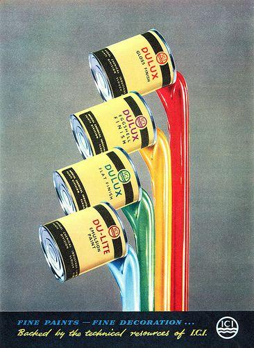 Dulux Paint advertisement.