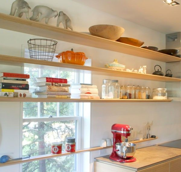 Kitchen Window Shelves: 12 Great Inspirations