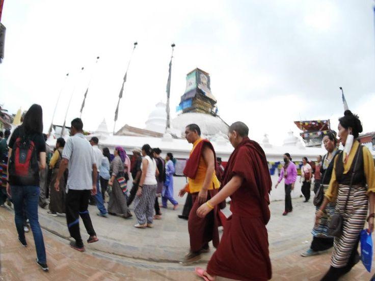 Bourdha stupa, Kathmandu