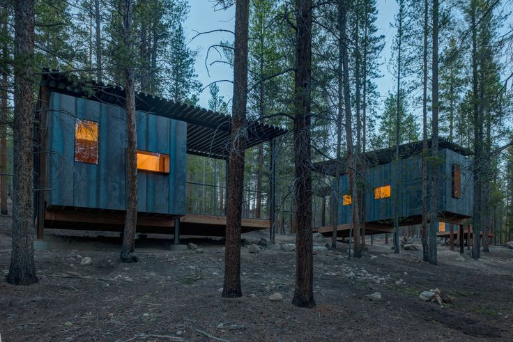 Gallery of Colorado Outward Bound Micro Cabins / University of Colorado Denver - 17