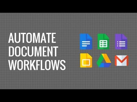 Automate Document Workflow with Google Docs, Gmail, Google ...