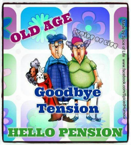 Old Age- Tension Due to Tiny Pension