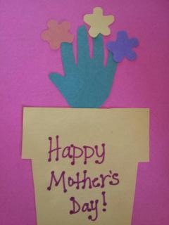 Simply Homemade: Simply a Mother's Day Craft for Kids