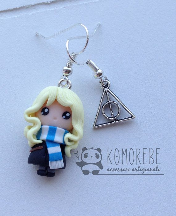 Luna Lovegood Harry Potter boucles d'oreilles par KOMOREBE15